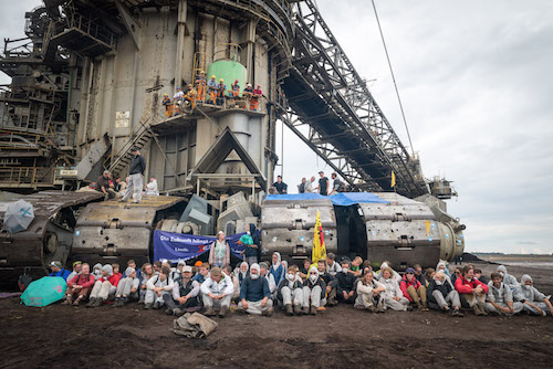Activists in Germany shut down one of Europe's biggest coal mines