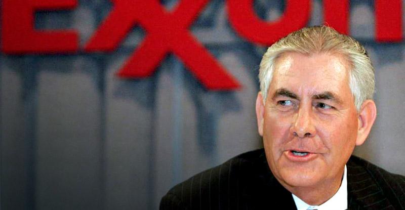 Rex Tillerson, CEO of ExxonMobil