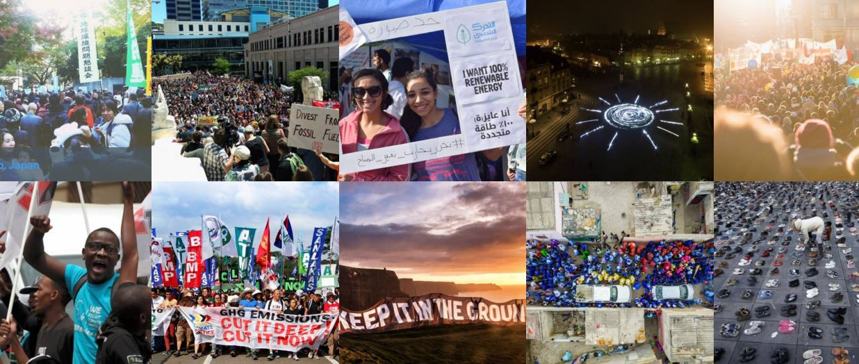 Global Climate March Photos