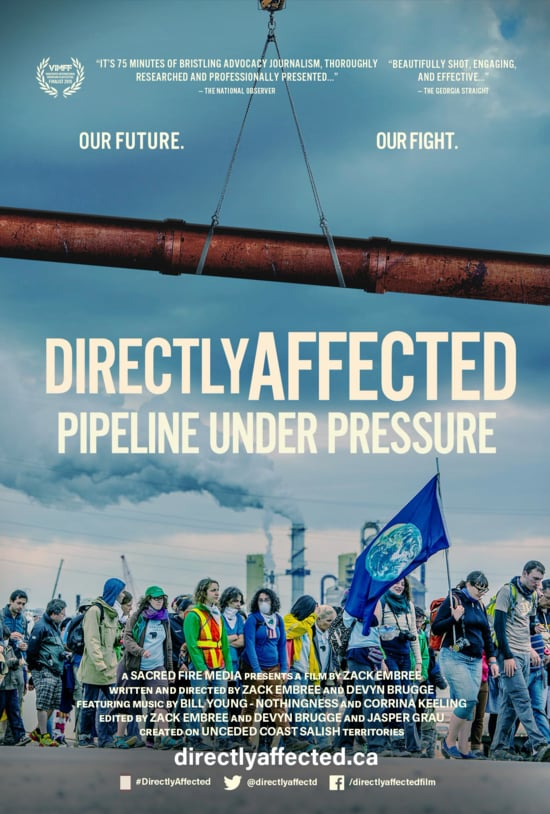 KW Kinder Morgan Town-Hall - Film Showing @DirectlyAffectd @ Kitchener Public Library