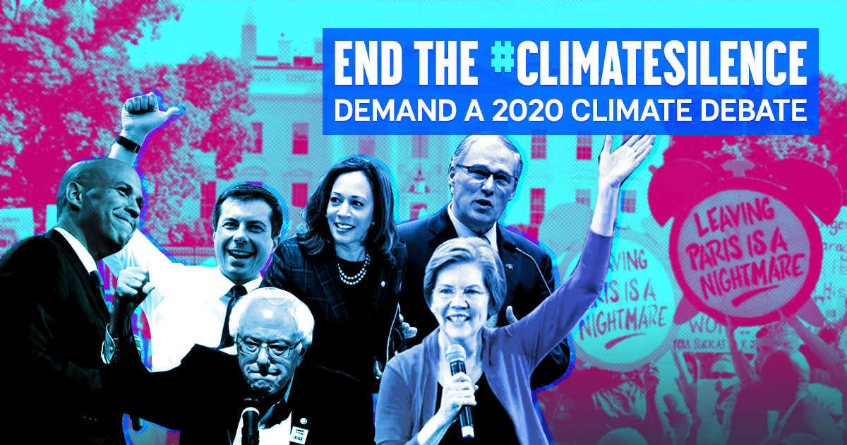 2020 candidates should debate their climate action plans