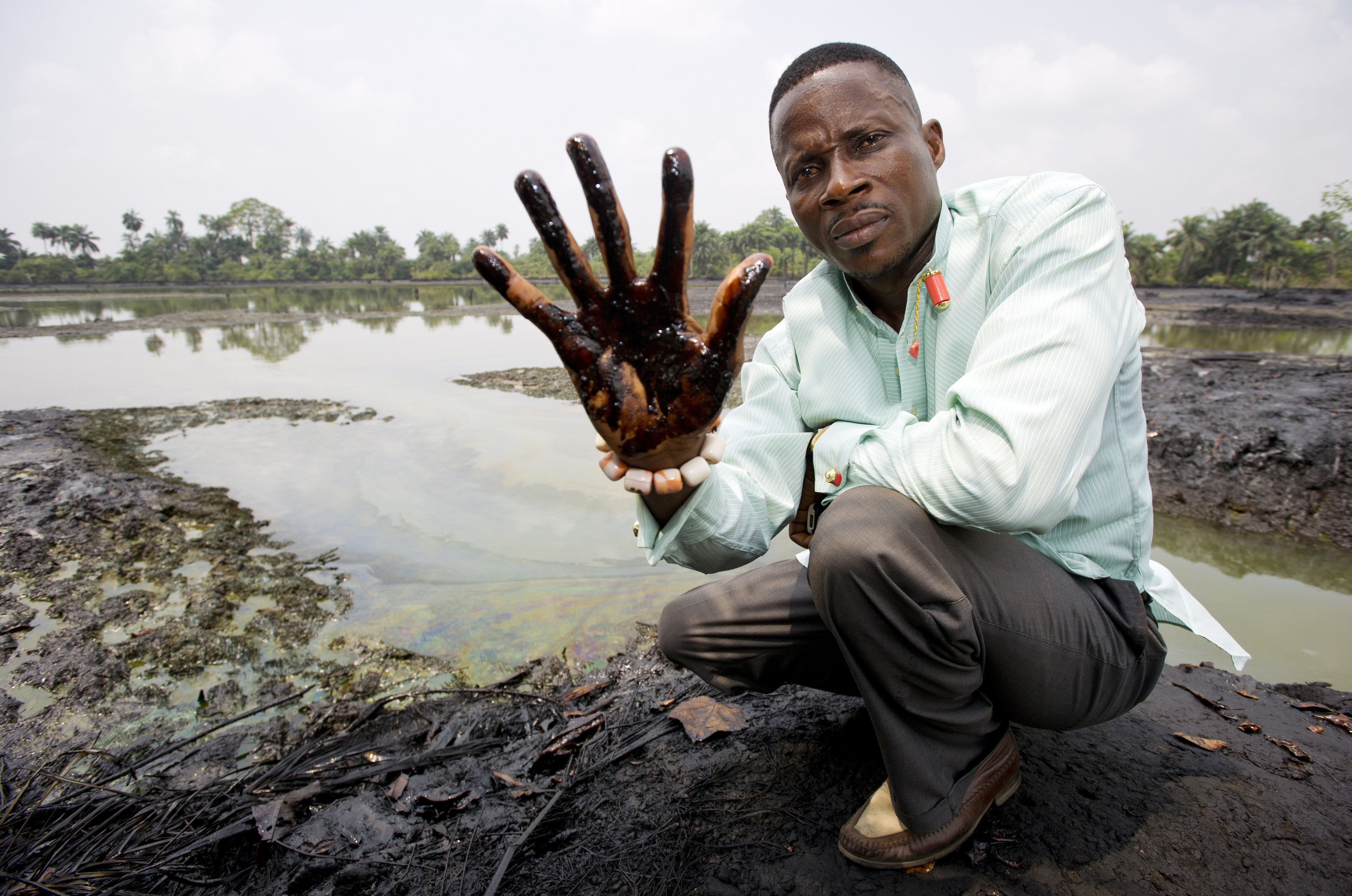 Povo Ogoni na Nigéria foi fortemente impactado pela Shell