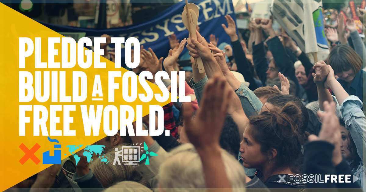 I'm going Fossil Free - join me.